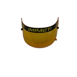 Garage Sale - Impact Racing 12100904 Amber Shield-Charger/Vapor/Carbon Fiber Draft