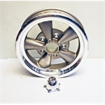 Garage Sale - ET Vintage V Front Runner Wheels, 15X4 Inch, 4.75 Bolt Pattern