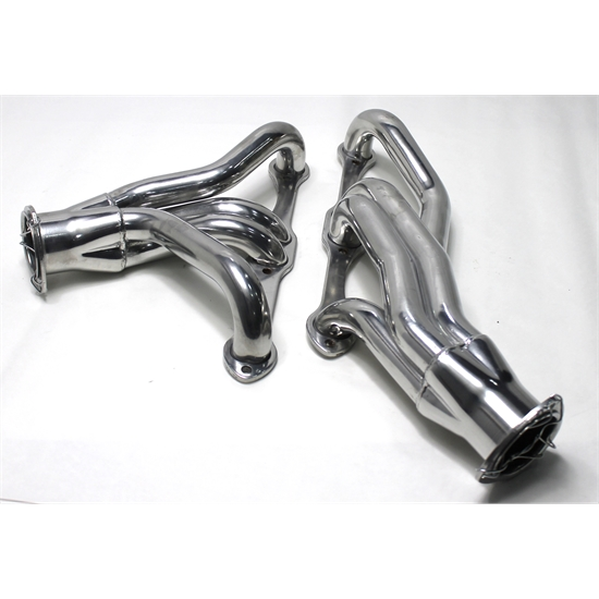 1967-1987 Small Block Chevy Shorty Headers, Manual