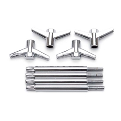 Garage Sale - Edelbrock 4400 Valve Cover Wing Bolt Kit, 3.750 Inch length, Set of 4