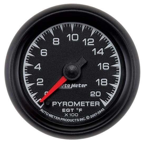 auto meter 5945 es digital stepper motor pyrometer gauge