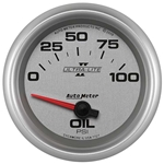 Auto Meter 7727 Ultra-Lite II Air-Core Oil Pressure Gauge, 2-5/8 Inch