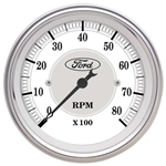 Auto Meter 880088 Ford Masterpiece Air-Core In-Dash Tachometer Gauge