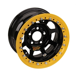 AERO 53 Series Wissota Certified Race Wheel, Beadlock, 5 on 5 Inch Pattern