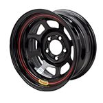 Bassett DOT Approved 15 Inch Wheel - 15x7, 5 on 5, Black