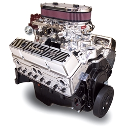 Edelbrock 45000 Dual-Quad 9.0:1 Compression Performance Crate Engine
