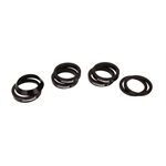 MPD Racing 087200-36 Midget Axle 36 Spline Spacer Kit-Aluminum, Sprint