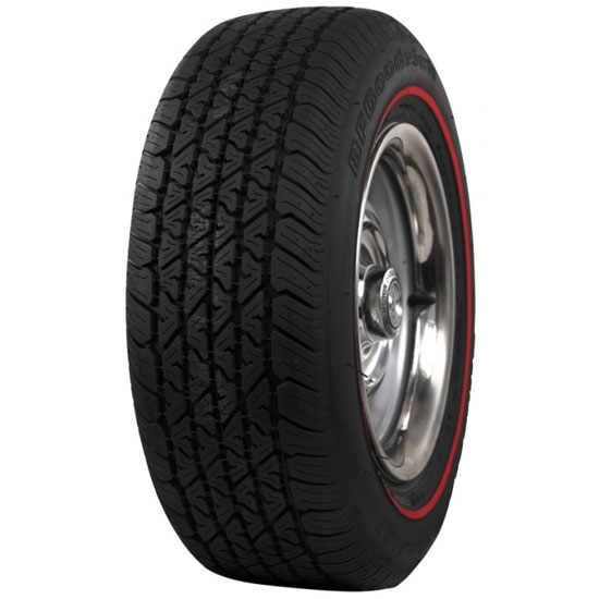 coker tire 555750 bf goodrich redline tire 215 65r15 free shipping speedway motors. Black Bedroom Furniture Sets. Home Design Ideas