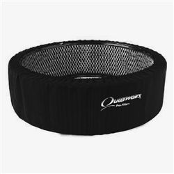 Outerwears 10-1141-03 Red 14 x 3 Tall Air Cleaner Pre-Filter Cover