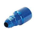 Garage Sale - Russell LS1/LT1 Fuel Line Adapter Tube Fitting, AN6 to 5/16, Blue