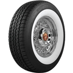 Coker Tire 629703 BF Goodrich Silvertown Whitewall Radial, 235/75R-15