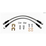 Wilwood 220-12104 14 Inch Flexline Kit, 3/8-24 IF to 10mm Banjo