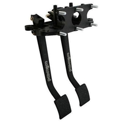 Wilwood 340-4828 Reverse Swing Triple Master Cylinder Pedal, 5.1:1