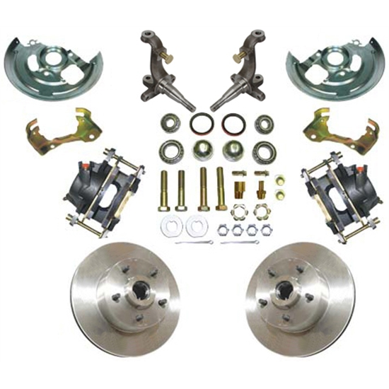 1962-67 Chevy II/Nova X-Body Disc Brake Kit