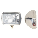 Rectangular Headlights, Halogen Bulb