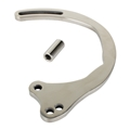 Small Block Chevy Lower Alternator Bracket, Stainless