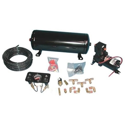 Garage Sale - RideTech 30141001 Standard Air Ride Suspension 4 Wheel Compressor Kit