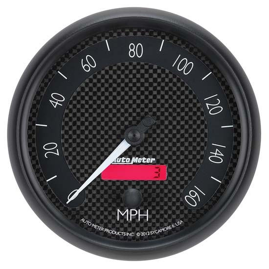 Auto Meter 8089 GT Air-Core Speedometer Gauge, 5 Inch