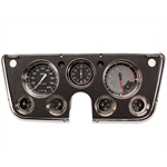 Classic Instruments CT67AXG 1967-72 Chevy Pickup Auto Cross Gauge Set, Gray
