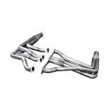 Dynatech® Modified 604 Crate Engine Headers, 1 Inch Triple-Step Long Tube