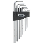Titan Tools 12757 9-Piece Hex Key Extractor Set, Metric