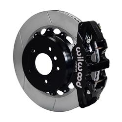 Wilwood 140-13583 AERO4 Rear Disc Parking Brake Kit, 14 Inch