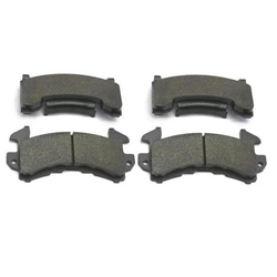 Wilwood 150-8936K D154 PolyMatrix BP-10 Brake Pad Set, GM Metric