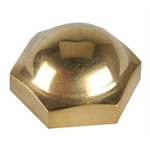 Model T Steering Wheel Nut, Brass