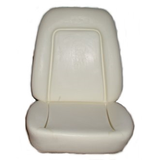 Al Knoch Interiors 102 Standard Bucket Seat Foam, 1969 Camaro, Each