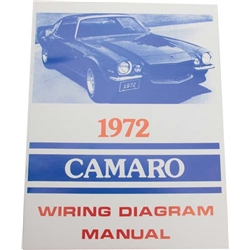 72 Camaro Wiring Diagrams Camaro Wiring Diagrams
