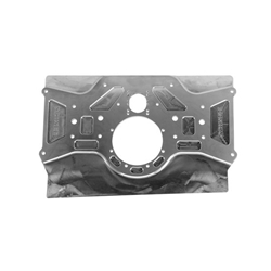 Schnee® Chassis Raised Rail Sprint Rear Motorplate, Aluminum