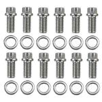 ARP Fasteners 400-1201 Stainless Steel Header Bolts, 12 Piece
