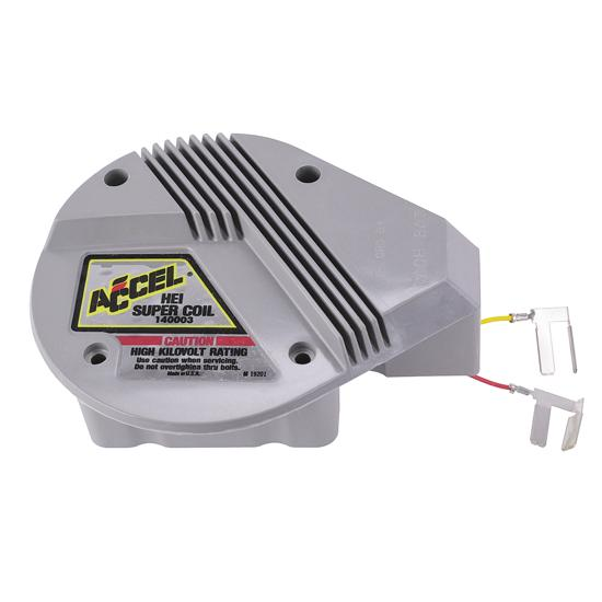 gm hei ignition accel 140003 gm high energy hei super coil red yellow