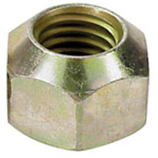 AFCO 10149 1 Inch Hex Steel Lug Nut, 7/16 Inch RH Fine Thread
