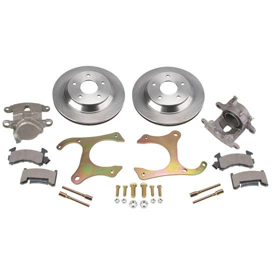 AFCO 7250-0120 GM 7.5 Inch Axle Brake Kit