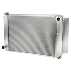 AFCO 80101FNP Performance Aluminum Radiator, 27-1/2x19 Inch-Ford/Mopar
