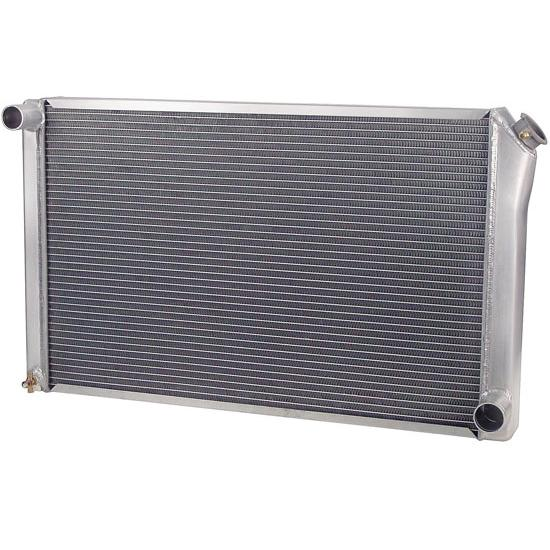 AFCO 80102NP Performance Aluminum Radiator, 32 x 18-1/2 Inch, GM