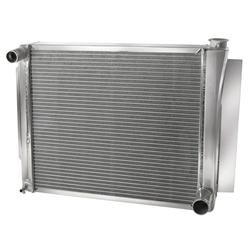 AFCO 80127NP Universal Fit Aluminum Radiator, 24-1/4 x 19 Inch, GM