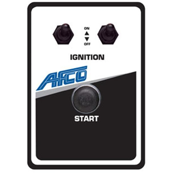 AFCO 85032B Starter Switch Panel, 4-1/8 x 5-7/8 Inch