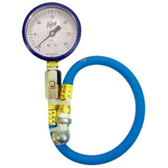AFCO 85315B 0-15 psi Tire Air Pressure Gauge, Blue