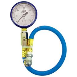 AFCO 85330B 0-30 psi Tire Air Pressure Gauge, Blue
