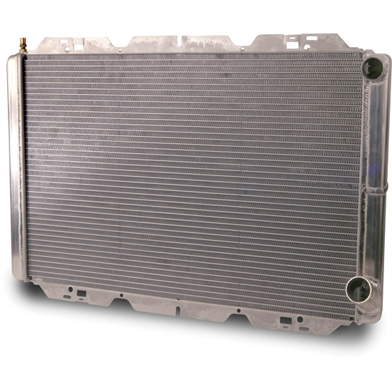 AFCO 80120N Double Pass Racing Radiator, 30-7/8 In. Wide, 1.5 In Inlet