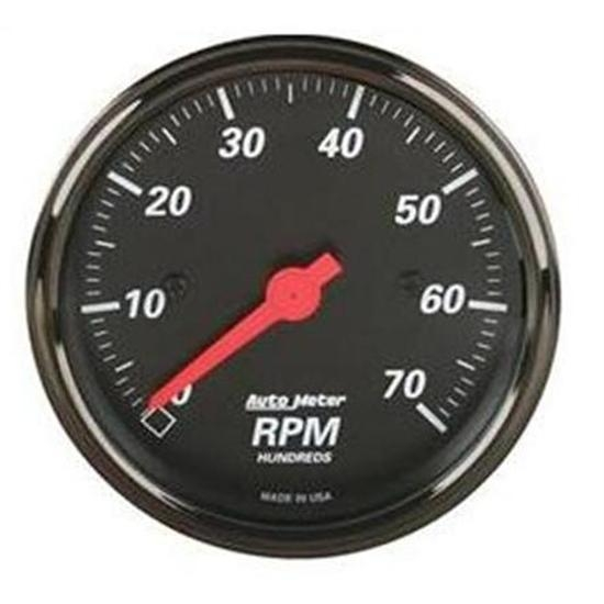 Auto Meter 1498 Black Electric Tachometer