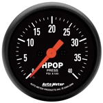 Auto Meter 2696 Z-Series Digital Stepper Motor HPOP Pressure Gauge