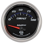 Auto Meter 7927 Cobalt Air-Core Oil Pressure Gauge, 2-5/8 Inch