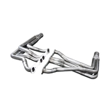 Dynatech® Modified 604 Crate Engine Headers, 1-1/2 Inch Triple Step Long Tube