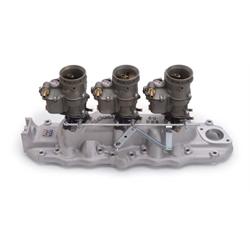Edelbrock 2013 Vintage Intake Manifold/Carburetor Kit, Ford