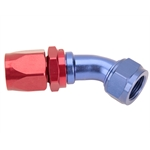 Fragola 224513 45 Degree Adapter Hose End Fitting, -12 AN to -16 AN