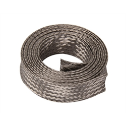 Stainless Braided Radiator Hose Cover, 1-1/4 to 1-5/8 Inch O.D.