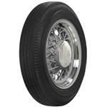 Coker Tire 635960 Firestone Blackwall Tire, Bias Ply, 500/525-16